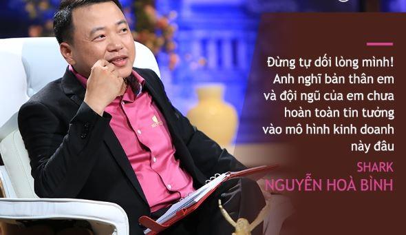 Nguyễn Hòa Bình cá mập