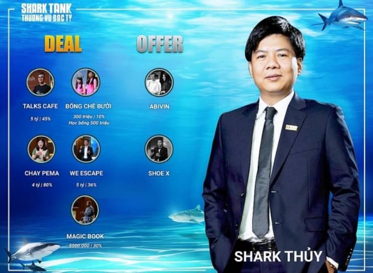 Shark Thủy là ai? chủ tịch HĐQT tập đoàn Egroup