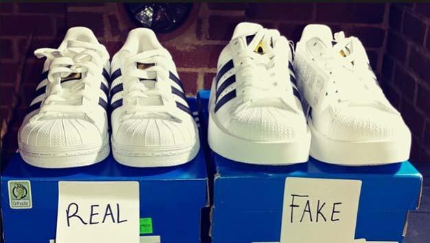Giay Adidas Real Fake